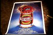 Return Of The Killer Tomatoes Orig Movie Poster 1988 Linen Cult Classic