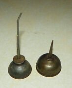 Pair Of Antique Oil Cans
