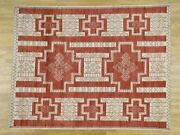 8and0391x10and039 Pure Wool Hand-knotted Peshawar With Southwestern Motifs Rug R36488