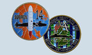 Navy Submarine Squadron 14 Fourteen Holy Loch Scotland Comsubron Challenge Coin