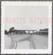 Vintage 1950s Photo Car Window View Of Pennsylvania Turnpike Toll Booths 781828