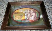 1970and039s Seagramand039s Baltimore Orioles Bar Mirror 1894 Temple Cup Mcgraw Keeler