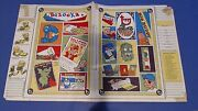1968 Topps Wacky Packages Batty Book Covers 5 Nutty Initials Ugly Stickers