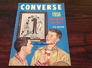 1958 Converse Basketball Yearbook 37th Edition Signed Baylor Hagan Petit ...