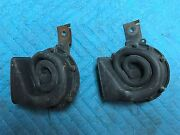 64 Corvette Gm Horns Pair Working Survivor Nice Tested 327 365 Coupe