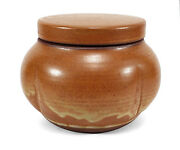 FINELY MADE RON JUDD CALIFORNIA STUDIO ART POTTERY LIDDED JAR COVERED VASE
