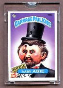 1985 Topps Gpk Garbage Pail Kids Unpublished Proof Set 199a Baby Abie