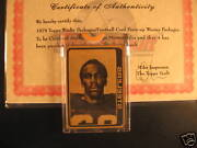 1978 Topps Football Stallworth Rc Proof +wacky Packages