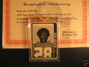 1978 Topps Football Eagles + 1979 Wacky Packages Proof