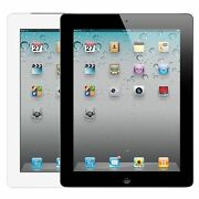 Apple Ipad 2 9.7in - Wifi Black And White 16gb 32gb 64gb Great Condition