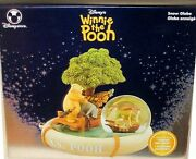 Disney Store Exclusive Musical Winnie The Pooh Cassic S.s. Pooh Snowglobe New