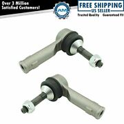Steering Outer Tie Rod End Lh Rh Pair For Ford Explorer Police Interceptor New