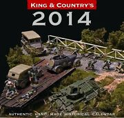 King And Country 2014 Desk Calendar For Toy Soldier Collectors