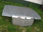 1978 Used Car Hood Front Hood With Mercedes Benz Emblem Good For Decor
