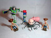 Lot Of Toy Story 2 Disney Pixar Thinkway Action Figures Includes Talking Buzz