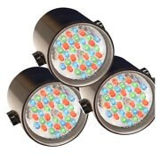 Kasco Marine Rgb3c5 Led Rgb Composite Color Changing 3 Light Kit 250and039 Power Cord