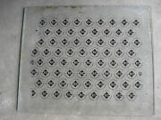 Rare 1950s Rc Cola Louisville Ky Bottle Cap Factory Glass Printing Plate