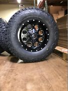 17x9 Fuel D525 Revolver Fuel At Wheel And Tire Package Set 5x5.5 Dodge Ram 1500