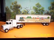 Ertl 1/64 9191 Shissler Seed Company Ford Tractor And Trailer
