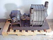 Rare Vintage Early Model Hv-6 Hoffman Centrifugal Vacuum Blower Exhauster