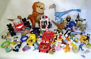 Lot Over 5 Lbs Disney Toys Mixed Figurines Mickey Zootopia Cars Dinosaurs Etc