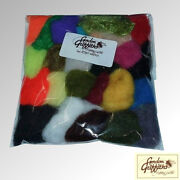 Gordon Griffiths Antron Dubbing Pack Of 24 Mixed Colours Adp