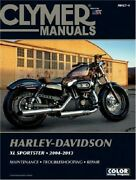 Clymer Service Manual Harley Xl833 Sportster And Xl1200r Roadster 2004-2009