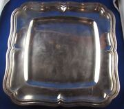 Antique Large Dish Plate Choose Seam Solid Silver Punch Minerve 19 Th Style Lxv