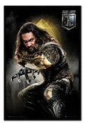 Framed Justice League Aquaman Solo Poster New