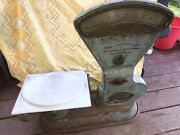 Antiques Honestly Scale Springless Heavy Scale With Plate Works Original