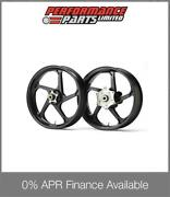 Galespeed Gp1s Curved 5 Spoke Black Forged Alloy Wheels Bmw S1000rr Hp4 2013
