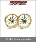 Galespeed Type S 15 Spoke Gold Forged Alloy Wheels Bmw S1000rr 2013