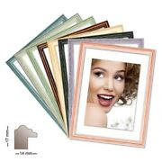 Wood Frame Charleston In 8 Colours Various Sizes