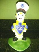 Rare Stokely Van Camp Easy Ceramic Ad Figure 1952 Advertising Character