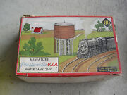 Vintage Ho Scale Plasticville Water Tank Kit In Box 2600 100