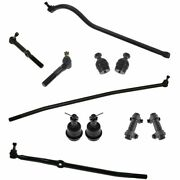 Steering And Suspension Kit Set Of 11 Ball Joints Tie Rods Drag Link Track Bar New