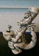 vintage Pete the dragon ceramic Rumph pipe unmarked