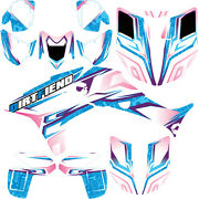 Trx450r Graphics 04-05 Dfr Andldquotractionandrdquo Electric Colors Full Wrap Honda Trx450r