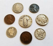 ✯ Classic U.s. Coin Estate Collection ✯ Includes Silver Rare Old Us Coin Lot ✯