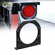 1pc 4 Round Trailer Tail Light L Mounting Bracket For Truck Boat Rv