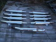 9 Assorted Used Mufflers For 1983 To 185 Yamaha Xvz1200 Venture Motorcycles