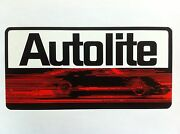 Autolite Gt40 Ford Vinyl Sticker Decal 10 Full Color