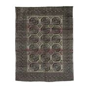 7and0395and039and039x9and0398and039and039 Vintage Afghan Elephant Feet Design Abrash Hand-knotted Rug R38893