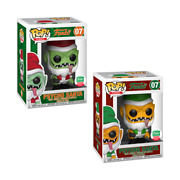 Pop Funko Spastik Plastik Red And Green Psycho Santa Sold Out Fast Only 3000 Made