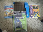 Leapfrog Leappad Pro Learning System 30002 W/3 Learning Games And Matching Books