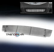 Bumper Billet Grille Grill Insert Horizontal Bar For 2010-2012 Altima Coupe 2dr