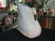 Owl Creek Pottery Louisville Limited Edition Signed Swan Sculpture Vase
