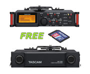Tascam Dr-70d 4-channel Audio Recorder W/a Free Patriot 32gb Sd Card New