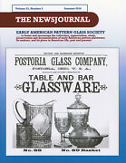 Early American Pattern Glass Society Newsjournal 23-2 Fostoria 1st Two Patterns