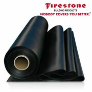 25and039 X 70and039 Firestone Rubbergard 45-mil Epdm Roofing Rubber